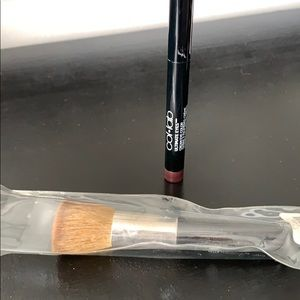 NWT Brush and used once eye shadow stick. 😊